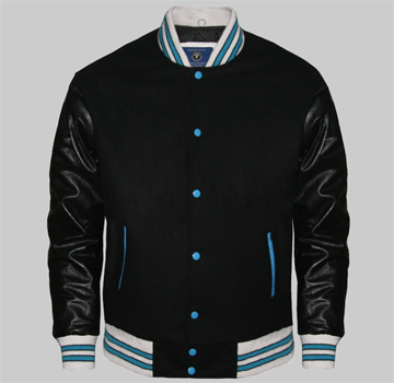 Wholesale Letterman Jackets Made Of Melton Wool Body And