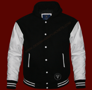 Letterman Jackets With Hood Design Your Letterman Jackets