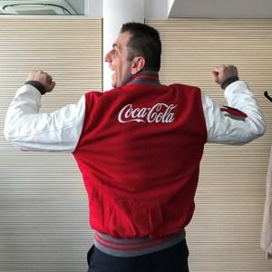 Varsity Jackets made for Coca Cola
