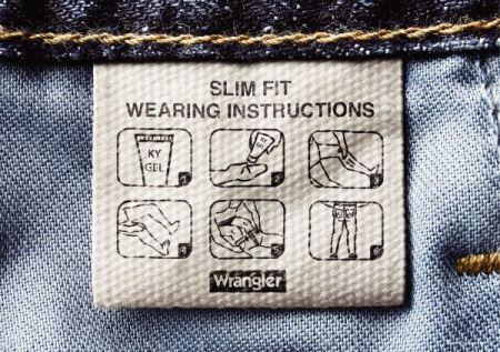 Wrangler Jean Instructions
