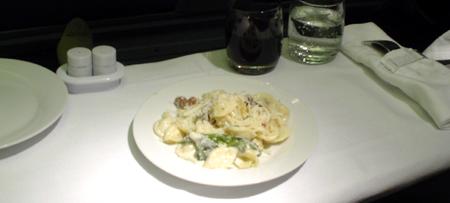 italy trip alitalia food