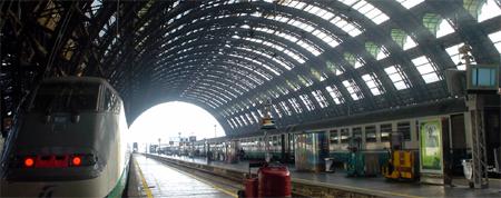 italy trip train station milan