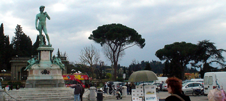 Florence piazzale michaelangelo