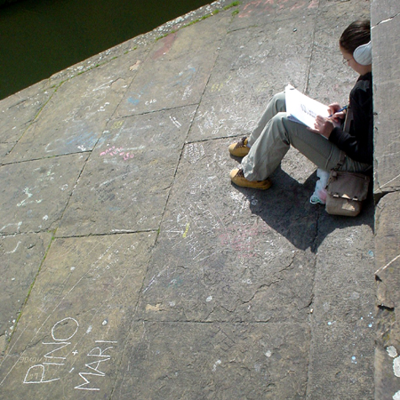 Florence bridge sketcher