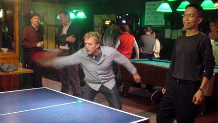 PopTech 2007 Camden Maine Gilberts ping pong