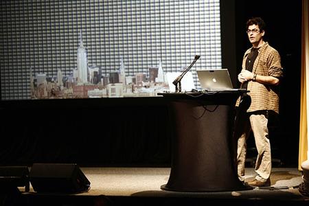 PopTech 2007 Camden Maine Chris Jordan