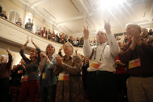 poptech2007 camden maine applause