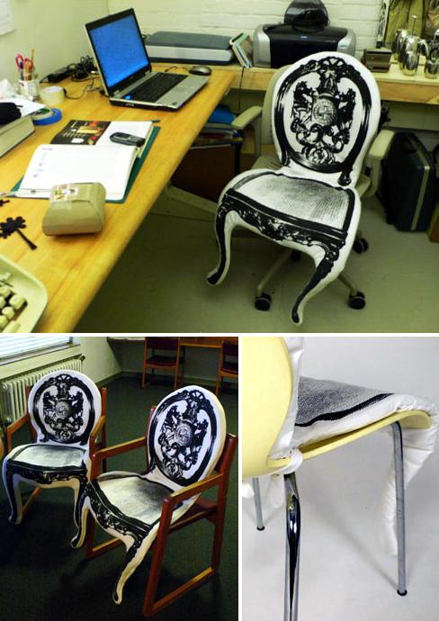 chair chair pad su chenhui