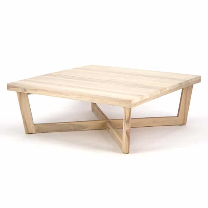 coco reclaimed teak square coffee table design warehouse nz