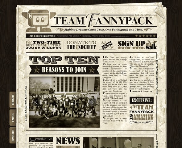 30 Remarkable Newspaper Style Websites