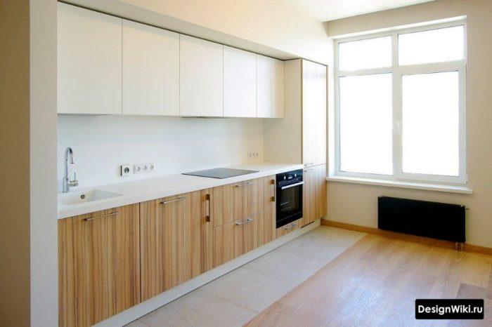 Köksdesign är enkel och smaklös utan onödig inredning