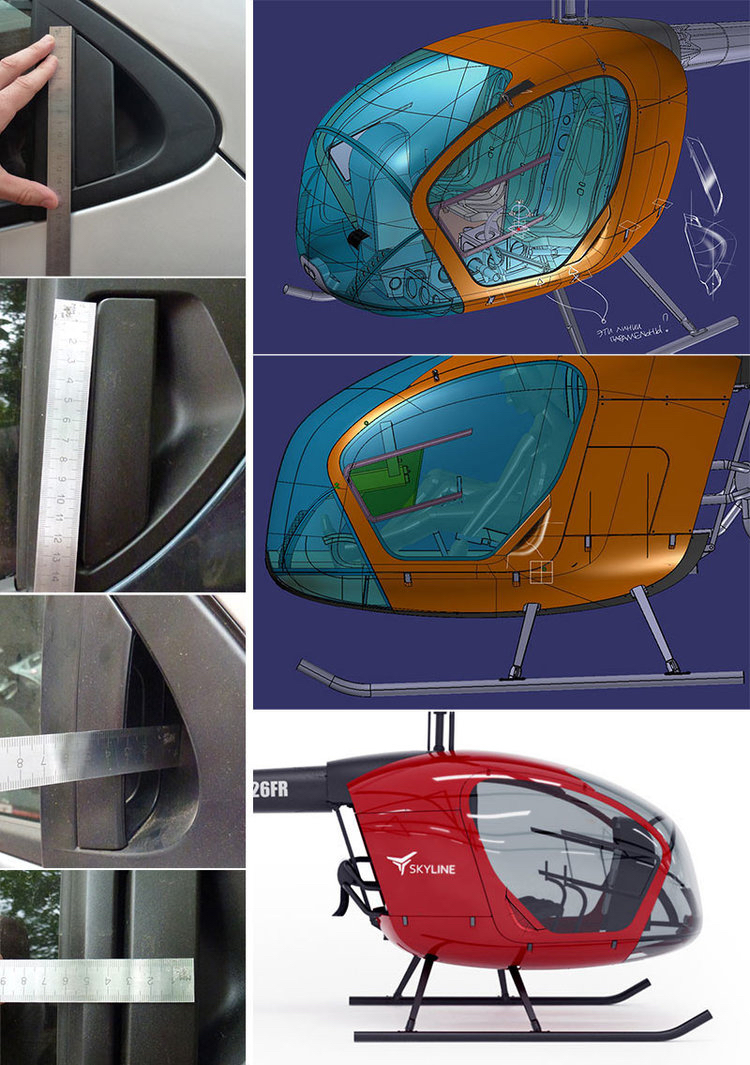 to reduce costs and the number of tools and manufacturing required for parts involved we suggested using readymade car door locking mechanisms for the door handles