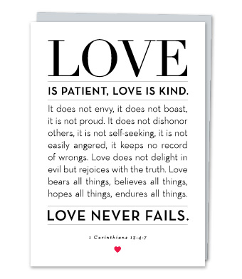 1 Corinthians 134 7 Design With Heart Studio