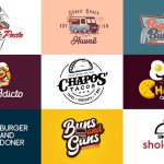 28 Restaurant Logo Ideas For Appetizing Brand Design With Red