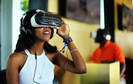 Experience a virtual world with Samsung's Products