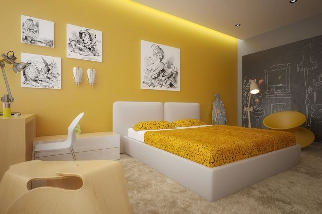 Sunny Lemon_Interior color trends