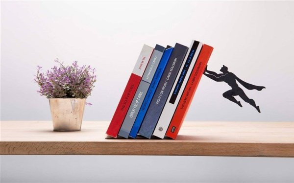 Superman Metal Floating Shelf