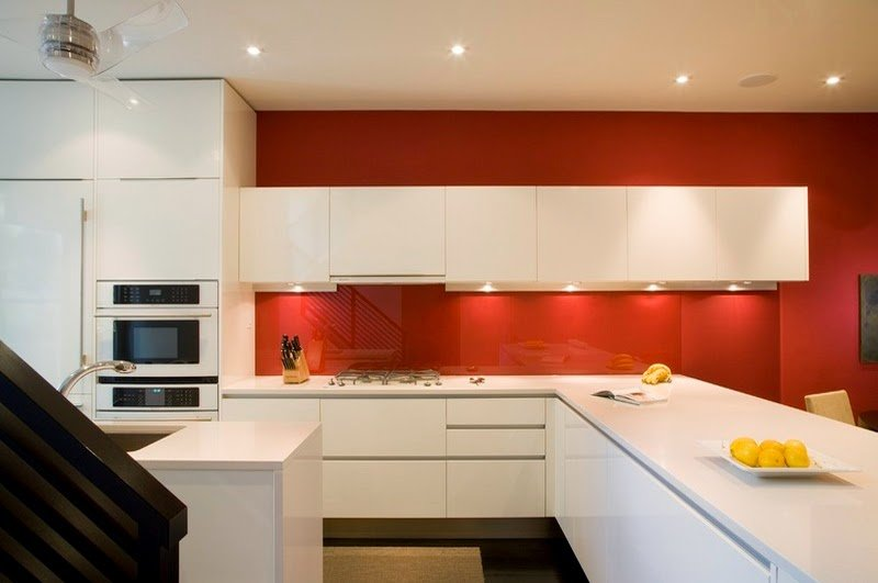 Pros and cons of acrylic kitchen cabinets - DesignWud Interiors
