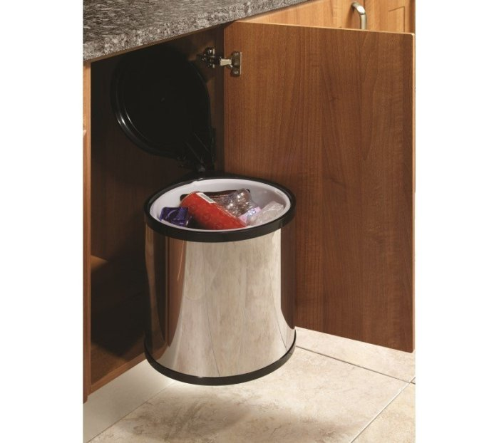 hide trash can kitchen ideas