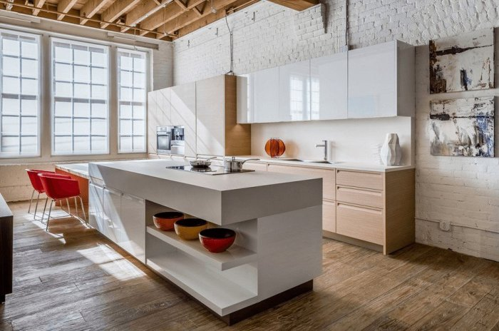 kitchen ideas space under kitchen island