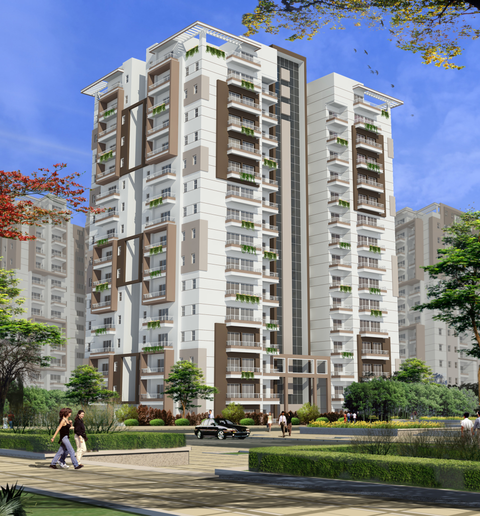 4 BHK Apartments view