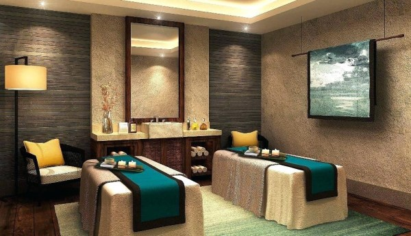 interior design Spa wet treatment room