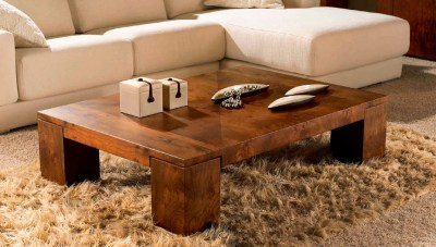 adding textures with contemporary coffee tables