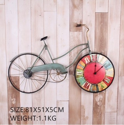 Retro style Creative Bicycle Wall Clock