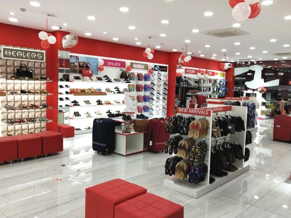 Footwear retail showroom Interior