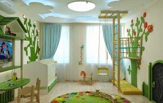 Designer ceiling_kidsroom