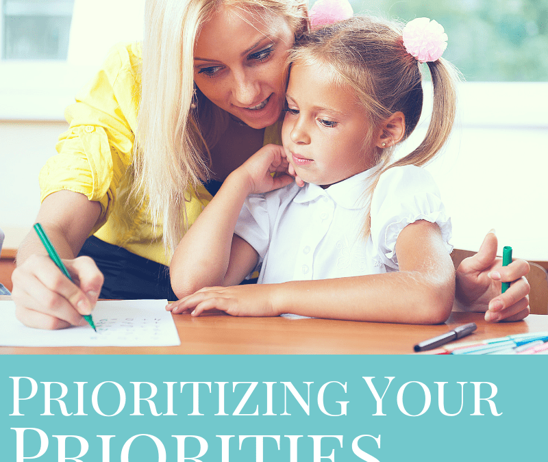 Designing Your Life by Setting Priorities in Life