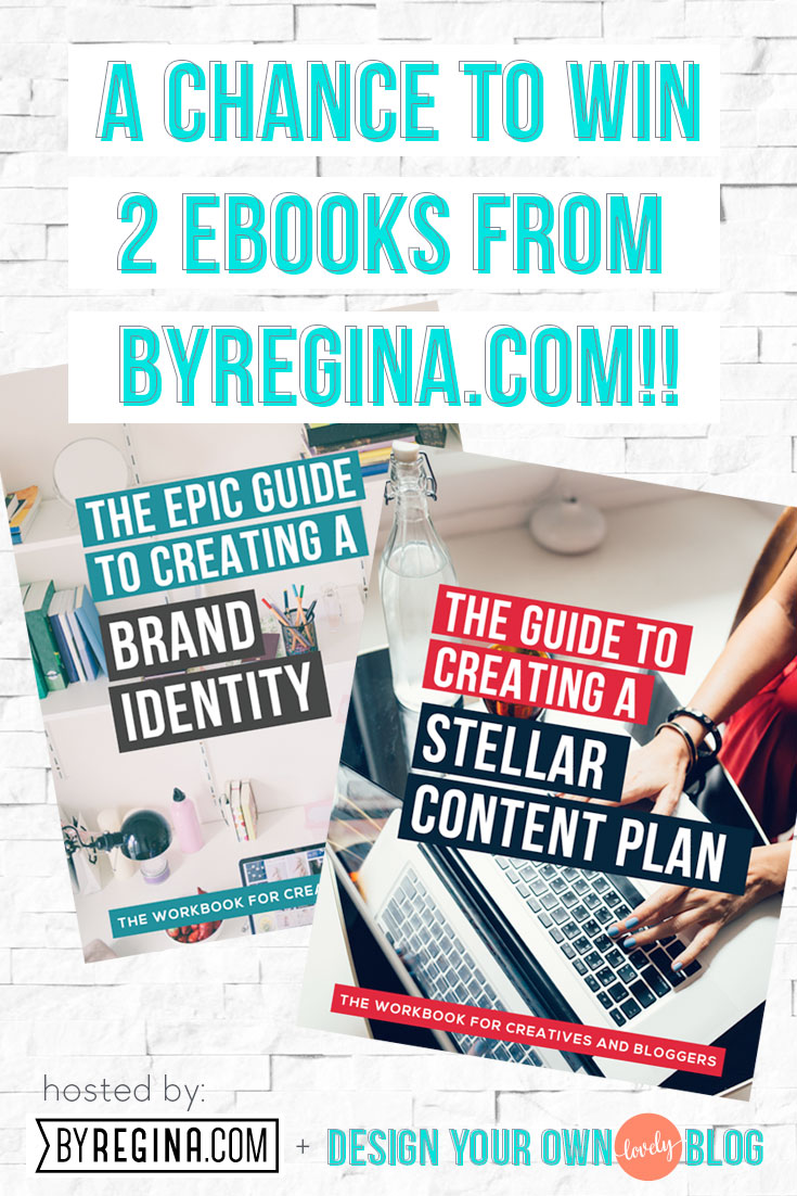 A chance to win 2 ebooks from byRegina.com's library!! Enter here!
