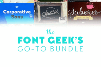The Font Geek's Go-to Bundle (20 Font Families, 200+ Individual Fonts) Just $29