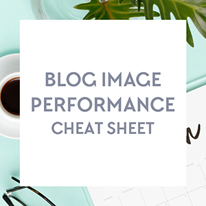 Free Download: The biggest mistake you're probably making with your blog images. Get your free blog image performance cheat sheet from http://DesignYourOwnBlog.com