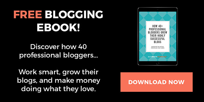 With over 77 pages of blogging wisdom, this eBook gives you the chance to learn from the best without spending a dime. Download your FREE copy of How 40+ Professional Bloggers Grew Their Highly Successful Blogs