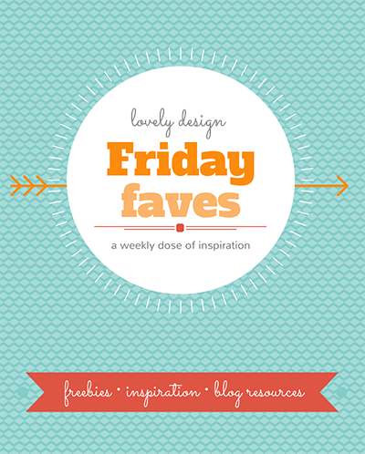 Friday Faves: Your Weekly Dose of Blog Design Inspiration from http://www.DesignYourOwnBlog.com #blogdesign #bloggraphics #freefonts #freegraphics #wordpress