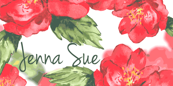 Jenna Sue is one of 20 Beautiful Handwritten Script Fonts on www.DesignYourOwnBlog.com