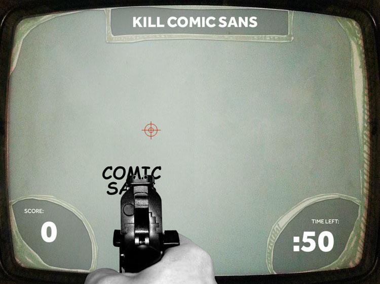 DYT kill comic sans Kill Comic Sans