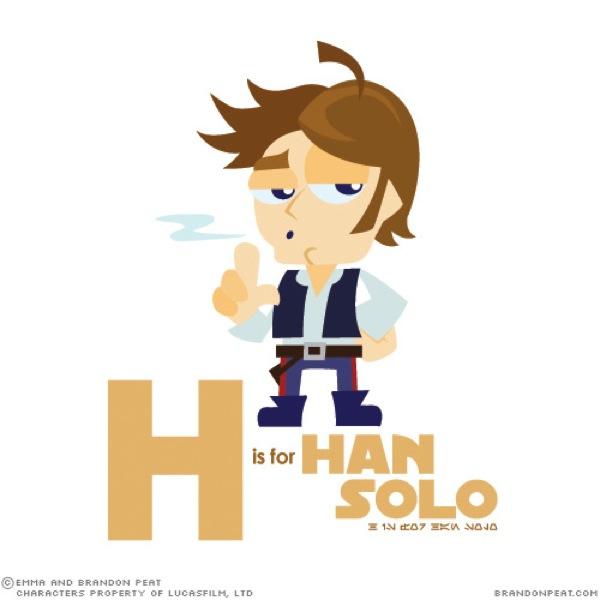 Brandon Emma Peat H Star Wars Kids Alphabet
