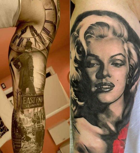 matteo pasqualin 07 Artistic Back Tattoo