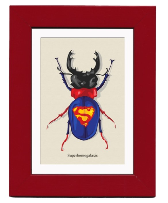 superhero bugs superman Superhero Bugs