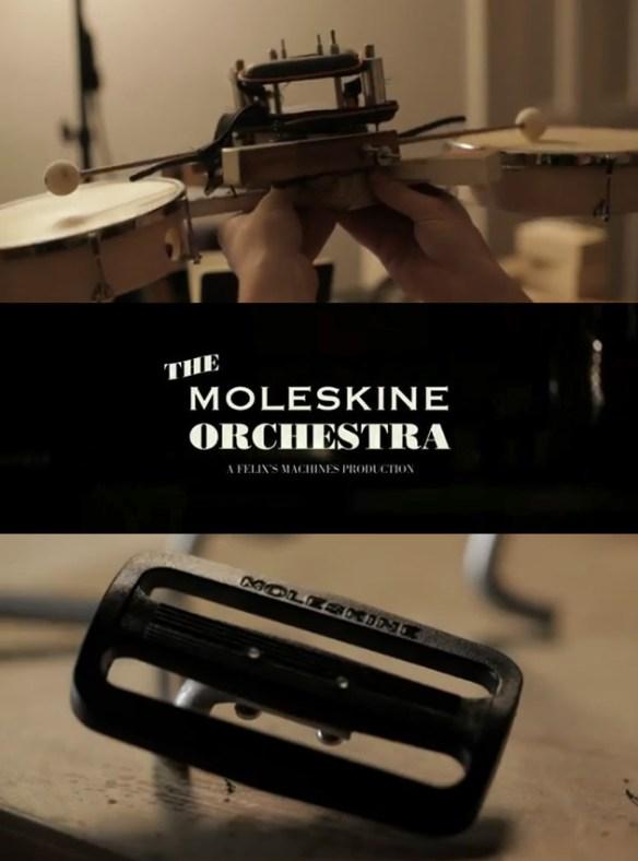 the moleskine orchestra milan design week fuorisalone Moleskine Orchestra | Milan Design Week