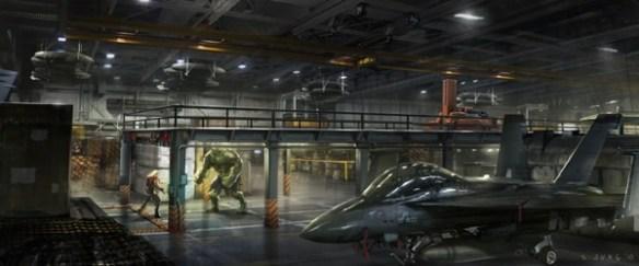 Avengers Concept Art Hulk Thor Avengers Concept Art