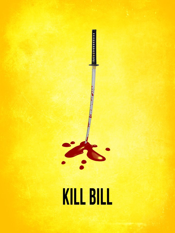 Minimalistic Hollywood Kill Bill Minimalistic Hollywood