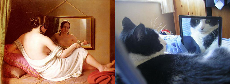 1180 The Copycats: Cats Imitating Famous Works Of Art