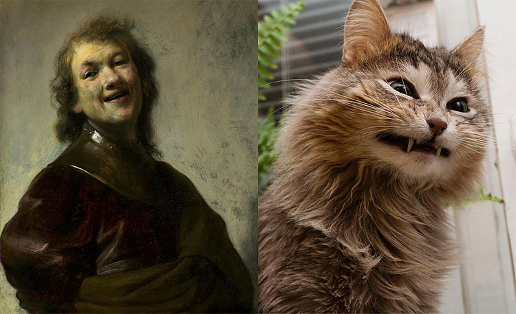 543 The Copycats: Cats Imitating Famous Works Of Art