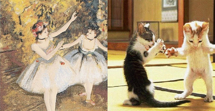 721 The Copycats: Cats Imitating Famous Works Of Art