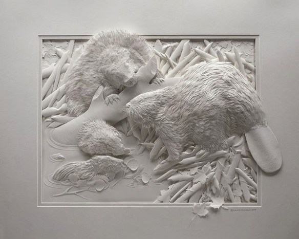 Mind Blowing Paper Sculptures