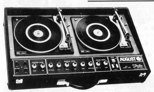 The first DJ Consoles