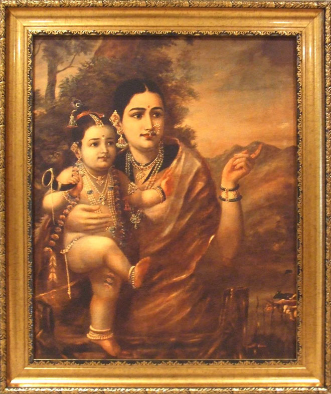 f117 25 Best Oil Paintings by Raja Ravi Varma   18th Century Indian Traditional Paintings